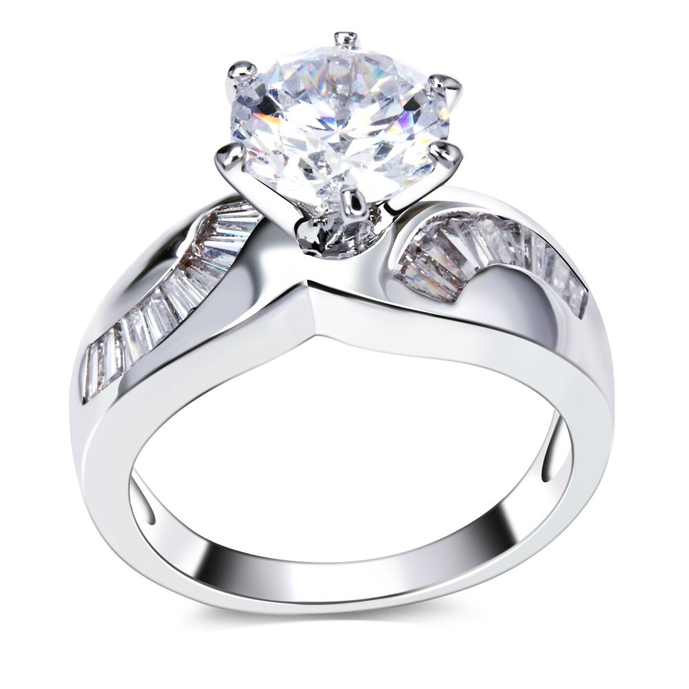 New toutes les saisons femmes Deluxe anneaux de mariage cadeau femme 8 ...