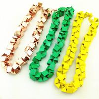 N00115 2015 wholesale za item fashion necklaces & pendants chunky choker Necklace statement jewelry women