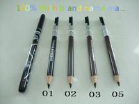 Free DHL/EMS 4-6days120PCS/LOT brand name mc eyebrow pencil ,profession hello kitty eyebrow pencil +mc logo