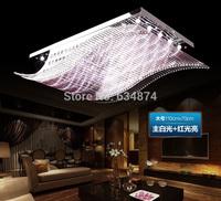 2014 Fashion Crystal Ceiling Light 85-265V 20W LED Ceiling Lamp Modern Living Dining Hotel Room Crystal Lighting Free Fedex