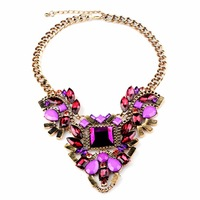 N00100 2015 necklaces & pendants Trend fashion chunky choker statement necklace for women jewelry at Factory Price