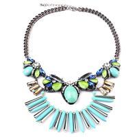 N00044 2015 necklaces & pendants fashion Unique vintage items Europe NEW party choker Necklace statement jewelry women