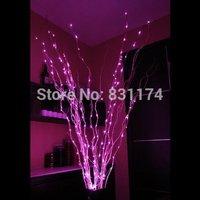 12V 180 Led Branch String Lights Silver Vine Indoor Decoration for Party Wedding Christmas Room Pink Starry Fairy Light