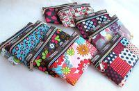 Wholesale oxford cloth printing small coin purse small bag storage bag women Korean explosion models