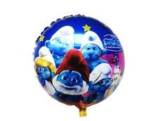 new arrivel 50pcs/lot 18 inch round balloons aluminium foil helium balloons cartoon Balloon for birthday party free shipping