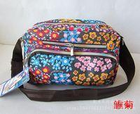 Wholesale Korean version of the new waterproof Oxford cloth handbags Shoulder Messenger printing mom bag