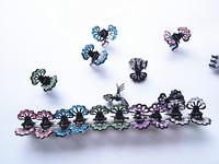 100pcs silicone mini-hairpin free shipping girl