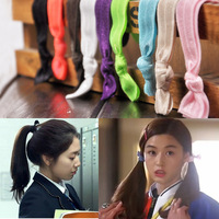 New 2014 Fashion band Successors show children candy color hair rope hair head ornaments&bracelet factory direct wholesale sales