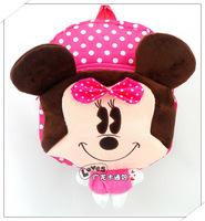 New 2014 brand Mickey Minny cute detachable children school bags toy kid backpack cartoon bag boy girl mochila infantil