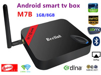 M7B Amlogic S802 Quad Core android smart TV Box  Android 4.4 1G/8G 2.4G/5G WiFi 4Kx2K HDMI XBMC Miracast/DLNA bluetooth smart TV