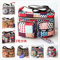Wholesale supply of Korean women bag printed oxford Shoulder Messenger Bag new multi- color spot