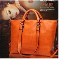 New 2014 fashion women leather handbags bolsas femininas