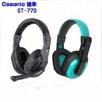 Brand headband headphone Jiahe ct-770 computer earphones gaming headset PC voice headset With microphone