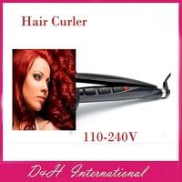Новые прибытия кукурузный волос Выпрямитель розовые волосы клубнелуковица cliper 110-240v Бесплатная доставка drop