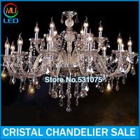 12arm crystal chandelier for living room LED crystal chandelier hotel chandelier project contemporary crystal chandelier bed