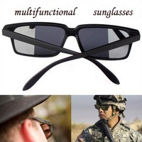 New Arrival 3PCS Strategic Can See Behind Designer Mirror Eye Glasses Sunglasses