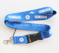 New 20pcs YAMAHA Blue motorcycle Logo Lanyard/ MP3/4 cell phone/ keychains /Neck Strap Lanyard  Free shipping