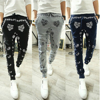 Free shipping New 2014 summer men pants sport running outdoors sweatpants trousers
