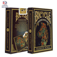 free shippingCycling Horse Bicycle Warrior Horse Poker Solitaire United States imported PLC-076