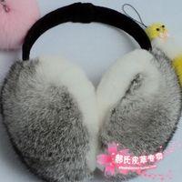new winter ear muffs Rex rabbit hair ear package ultralarge earmuffs ear cover sub- male Women winter earmuffs cute