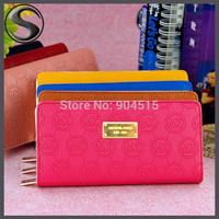 New Style Women Wallet Fashion Zipper Wallets Women Long Design Female's Retro Purse Clutch Bag Card Package Money Clip (WP1023)