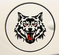 Free Shipping Style Car Stickers, Wolf Car Decal ,Fierce Waterproof On Rear Windshield Door Tank Lid Sticker