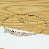 Han edition OL regent authentic fashion lady opal crystal night female accessories wholesale