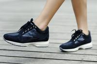 2014 new italian Luxury women leisure sneaker,clothing H logo suede interactive fashion shoes climbing footwear for women