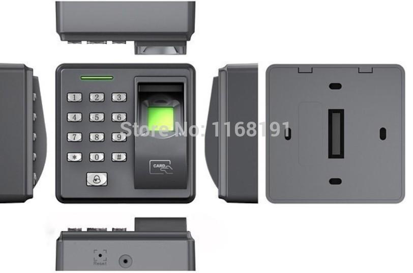 X7- biometrische fingerabdruck& rfid-karte Zutrittskontrolle mit rfid-id-karte/fingerabdruckleser/Tür Entry/Sicherheit-- x7