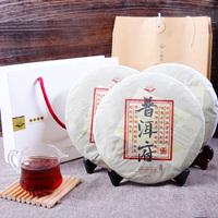 357g puer tea ripe shu puerh chinese pu er seven cake puerfu health care premium 2012 years AAAAA tops freeshipping wholesale