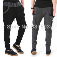2014 Men Sweatpants M-L-XL-XXL Casual Harem Pants Mens American Style Jogger Pants Fall Sweatpants Sportswear Outdoors Trousers