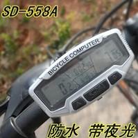 28 Function Waterproof Wire Bicycle Odometer Digital Multifunctional Bike speedmeter Bicycle Speedometer