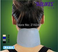 High quality breathable Neck guard cervical spondylosis neck pain adjustable Neck brace supports magnetic posture support