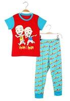 New Retail 2pcs t-shirt+pant  2014 Children Set Cartoon DUSTY PLANE fashion suit boys jeans sets  Kids Clothing X262