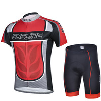 men Legendary red jersey short sleeve suit male perspiration breathable cycling clothing equipment spring explosion   spike