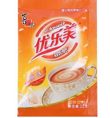 tea flavor instant creamy milk tea office delicious leisure snacks drinks(China (Mainland))