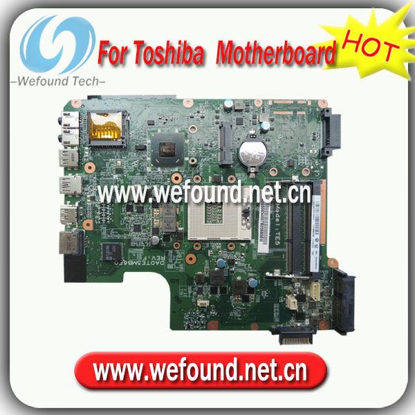 100% работает ноутбук материнская плата для toshiba L600 A000093450 платы серии, Системная плата ноутбук toshiba satellit c50 a l6k в минске