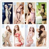 New Women Nice Lace sexy lingerie Sleepwear Robes Nightwear Nightdress + G-String