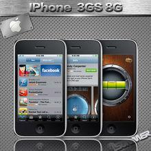 "Original Unlocked APPLE IPHONE 3GS 8GB Cell Phones 3.5"" GPS WIFI 3 MP Used Smartphone Mobile Phone Russian Multi Language"