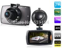 "Full HD Night Vision WDR 1080P wide Degrees Glass Lens Car DVR Camera Recorder BlackBox Novatek 96220 With h.264 2.7"" Lcd"