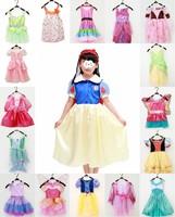 100% original Tinker Bell Girls Costume Dress 4-6x Tinkerbell Cosplay