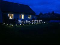 Wholesale! ip65 led step light half round led wall light: including 100pcs 0.4w lights