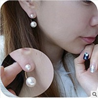new stud earrings Han edition of pearl earrings earrings stud earrings female model