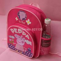 2014 Hot New Cute Peppa Pig Bag Kids Boy Girl Children's School Bags Backpacks Child Kid Schoolbag Backpack Free Shipping