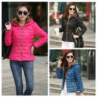 Lanluu Hot Sale Autum Winter 2014 New Womens Down Cotton Coat Lady Parkas Snow wear SQ793