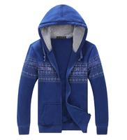 Hoodies sweatshirts for men Plus size coat Casual Thin Trend Sports Design retro 2014 Winter Autumn Winter Free shipping 4XL 5XL