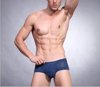 6544 U convex modal men's briefs Breathable bamboo fiber cotton men's underwear angle pants care Shorts MNK001 6544