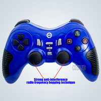 New 3-In-1 Wireless 2.4Ghz Joystick/Controller/Controle Double Shock Controlador/Gamepad  For PC Playstation PS3/PS2 0.6-BCG11B