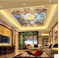 Large photo pvc wallpaper 3d Mural papel de parede wallpaper for ceilings wall paper for living room background homedecoration