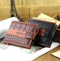 2014 new men's creative streak Cikou dollars purse wallet